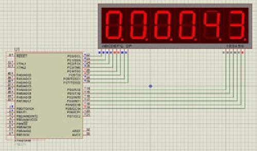 طراحی ساعت دیجیتال با CodeVisionAVR